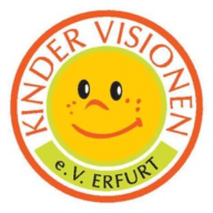 Dieses Bild zeigt das Logo des Unternehmens Kindervisionen e.V. Erfurt